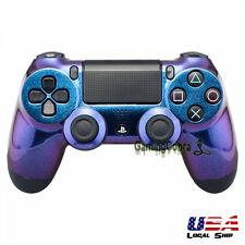 Glossy Chameleon Remote Controller Top Shell Replacement Kits for PlayStation 4