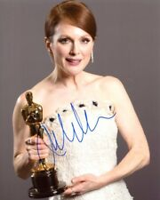 AUTOGRAPHE SUR PHOTO 20 x 25 de Julianne MOORE ( signed in person) + Video Proof