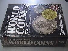 CATALOGO KRAUSE WORLD COINS MONETE MONDIALI 1701 - 1800 VII edizione 7 SETTIMA
