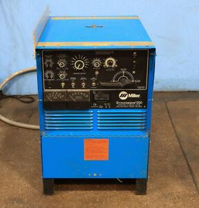 Miller Constant Current AC/DC Welding Power Source, MODEL SYNCHROWAVE 250