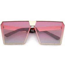 Lunettes de soleil rose gris pour femme 100% UV