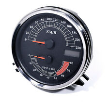 Tacho For Harley Dyna bike Speedometer Rev counter