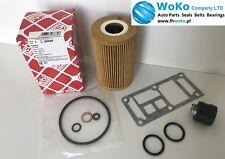 FEBI Oil Filter Oil Filter Housing Seal Kit Sealing Set 3er e36 e46 5er e34 BMW