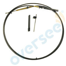 11FT Outboard Throttle Shift Cable 897978 -11 For Mercury Engine Remote Box