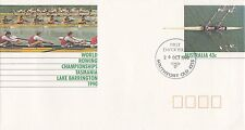 (46663) Australia FDC World Rowing Championships Postal Stationery - 26 Oct 1990