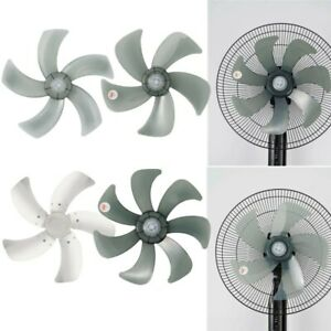 Universal Cooling Fan Blade 5/7 Leaves with Nut Cover Mute For 16in Table Fanner