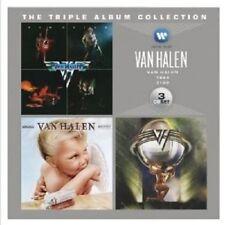 VAN HALEN - THE TRIPLE ALBUM COLLECTION (VAN HALEN/1984/5150)  3 CD NEUF