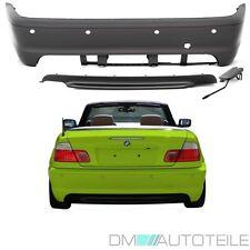 BMW E46 Coupe Cabrio Stoßstange hinten PDC 99-07 + ZUBEHÖR KOMPLETT für M-Paket