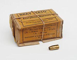 10 Becs Bray Ceto 14L pour lampe à acétylène / carbure