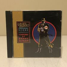 Dick Tracy Original Score 1990 Soundtrack by Danny Elfman CD Tested & Works