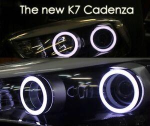 [Kspeed] (Fits: KIA 2014+ Cadenza The new K7 ) LED Circle Eye Modules Diy KIT