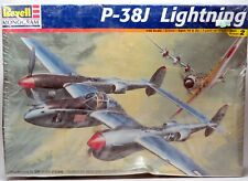 1/48 Revell-Monogram 85-5479 P38-J LIGHTNING Plane Kit Sealed Box NEW FREE SHIP!