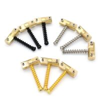3Pcs Vintage Compensated Brass Saddles with wrench for FD Telecaster Tele Guitar