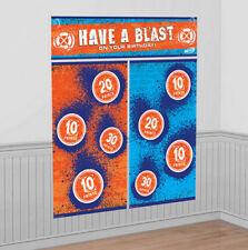 NERF Scene Setter Birthday Party decoration wall kit 6' poster photo backdrop