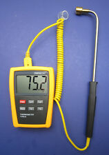 Digital K-Type Thermometer with High Temperature Surface Probe Sensor DM6801SF-1
