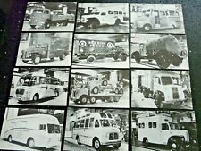 More details for 12x motor cards commercial motor show 1954 set 49-60 post cards