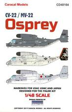 Caracal Decals 1/48 Lockheed Martin Cv-22 & Mv-22 Osprey