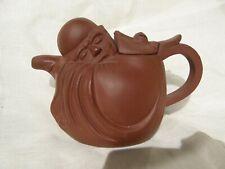 Yixing zisha Tea Pot tetera china Seal mark Sleeping Old Man