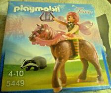 Playmobil Fairies 5449 Fee auf Pferd mit Dachs