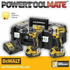 DEWALT DCK266M2T 18V Brushless Hammer Drill and Impact Driver Kit with 2 x 4.0ah Batteries