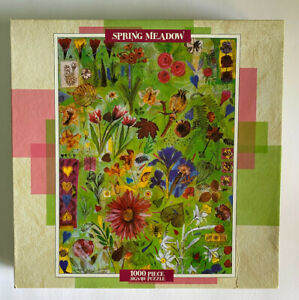 NEW Ceaco JIGSAW PUZZLE, Spring Meadow, 1000 pc, VINTAGE, Factory Sealed, 1998