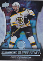 15-16 Upper Deck Patrice Bergeron Clearcut Superstars Bruins 2015