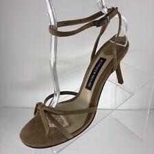 Jennifer Moore CAPRI Women's High Heel Shoes Size 9 Suede Ankle Strap BRAND NEW