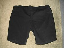 "AUTOGRAPH BLACK DENIM ""COMFORT"" EASY SHORTS-SIZE 24-NWT SUMMER IS HERE!!!"