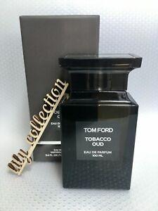 Tom Ford Tobacco Oud Eau De Parfum 3.4 Fl. Oz. | 100 Ml New In Box Sealed Unisex