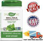 MELISSA Lemon Balm Leaf 1500 mg Traditional Sleep Aid Supplement 100 Capsules