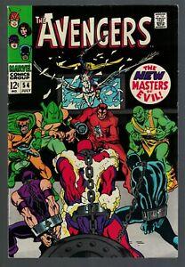 Marvel Comics Avengers 54 VFN+ 8.5 High grade 1st appearance Ultron