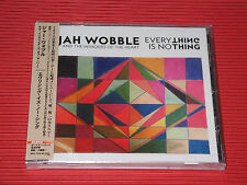 2016 JAH WOBBLE EVERYTHING IS NO THING with Bonus Track JAPAN CD