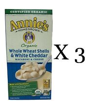 New listing Annies Organic Whole Wheat Shells & White Cheddar Mac & Cheese Best by 7/19