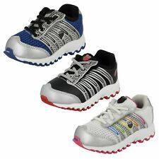 Boys or Girls K-Swiss Lace Up Run 100 VLC Mesh Trainers : Tubes