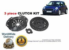 FOR BMW NEW MINI ONE COOPER 1.6 R50 R53 2001-2004 NEW CLUTCH KIT 3 PIECE
