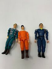 Lot of Three 1983 Cannell Productions The A Team Action Figures 3.75�