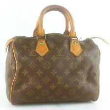LOUIS VUITTON SPEEDY 25 Hand Bag Doctor Purse Monogram M41528 JUNK