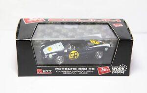 Brumm R277 Porsche 550 RS 1954 - Mint In Box Race Car
