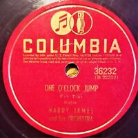 Harry James And His Orch |  ‎One O'Clock Jump / Two O'Clock Jump | Columbia 1941