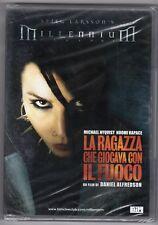 dvd LA RAGAZZA CHE GIOCAVA CON IL FUOCO Michael NYQVIST N. RAPACE
