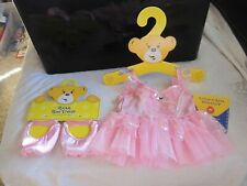 build a bear pink tutu ballet shoes new