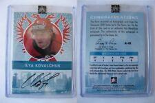 2010-11 ITG Vancouver 2010 A-IK Ilya Kovalchuk auto autograph  SP SSP