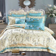 2020 home Luxury bedding set embroidered cotton bedspread cover duvet cover