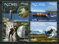Portugal Landscapes Stamps 2016 MNH Azores Birds Whales Surfing Nature 4v Set