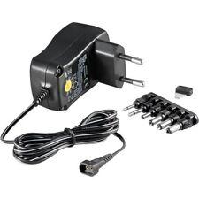 Stecker-Netzteil 3-4,5-5-6-7,5-9-12 Volt 600 mA 7,2 Watt von goobay