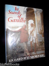 In Search of Gandhi by Richard Attenborough (Hardback, 1982-1st) India/Indian