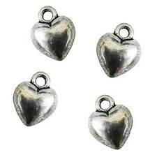 20 Breloque coeur 3D
