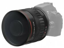 Bower 500mm f/6.3 Telephoto Tele Mirror Manual Lens with T T2 Camera Mount NEW