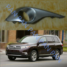 1PCS RH Front Bumpers fog lamp light lamps cover for TOYOTA Highlander 2011-2013