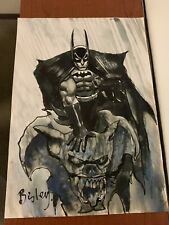Simon Bisley Batman Cover Quality Art